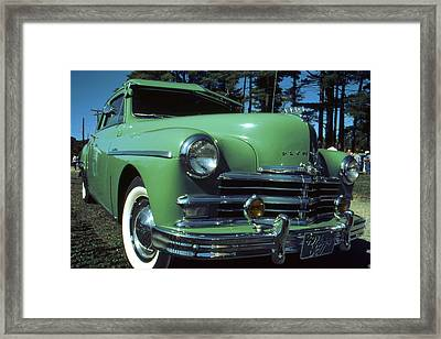 American Limousine 1957 Framed Print by Art America Gallery Peter Potter