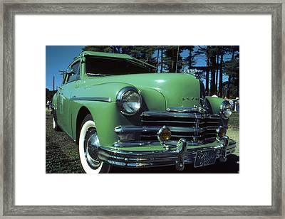 American Limousine 1957 - Historic Car Photo Framed Print