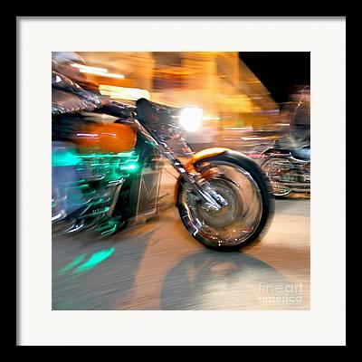 Daytona Bike Week Framed Prints