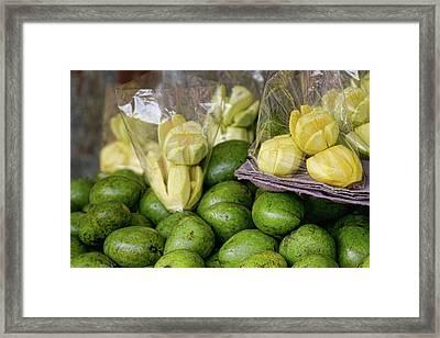 Green Mangoes Framed Print by James BO  Insogna