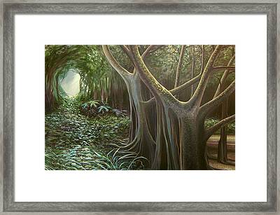 Green Mansions Framed Print