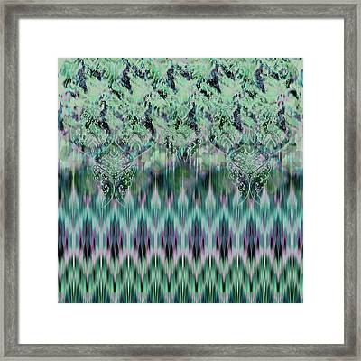 Green Meadow Framed Print