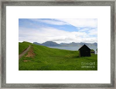 Green Meadow Framed Print