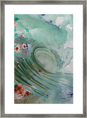 Green Mist Framed Print by Mateo Antonell