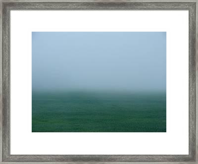 Green Mist Wonder Framed Print