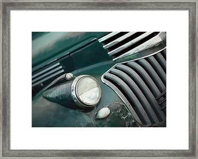 Green Monster Framed Print by Todd Klassy