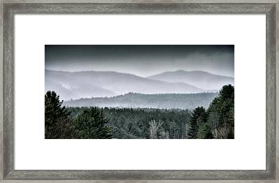 Framed Print featuring the photograph Green Mountain National Forest - Vermont by Brendan Reals