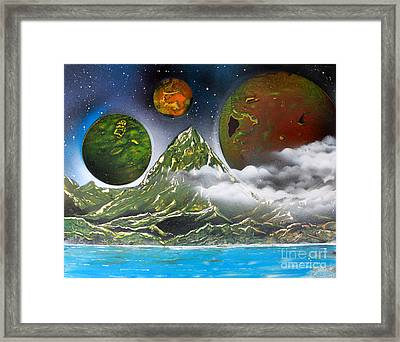 Green Mt.  4686 Framed Print by Greg Moores