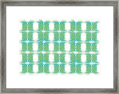 Green N Yellow Framed Print by Marcile Powers