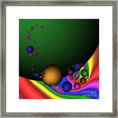 Green Planet 188 Framed Print by Rolf Bertram