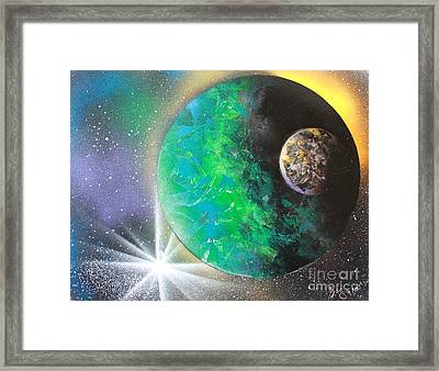 Green Planet 4672 Framed Print by Greg Moores