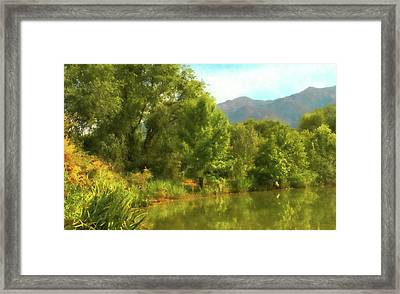 Green Pond Dwp Framed Print