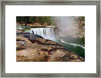 Green River Falls Framed Print