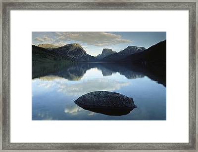 Green River Lake, Bridger-teton Framed Print