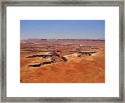 Green River Overlook Framed Print by Phil Stone