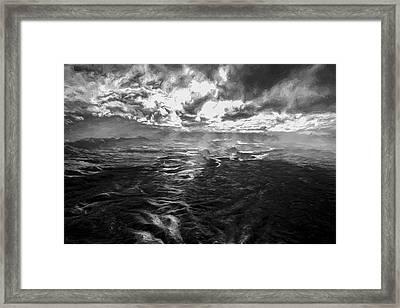 Green River Rays II Framed Print