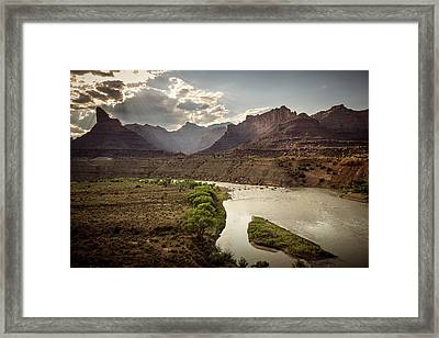 Green River, Utah Framed Print