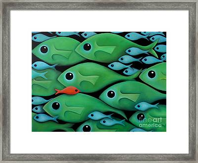 Green School 2 Framed Print