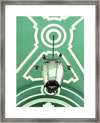 Green Shot Framed Print by Yury Bashkin