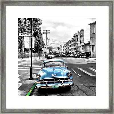 Green Street Framed Print