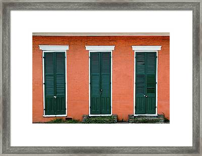 Framed Print featuring the photograph Green Tangerine by Nicholas Blackwell