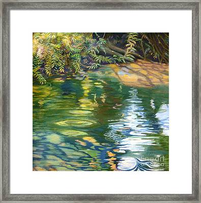 Green Treasure Framed Print by Lucinda  Hansen