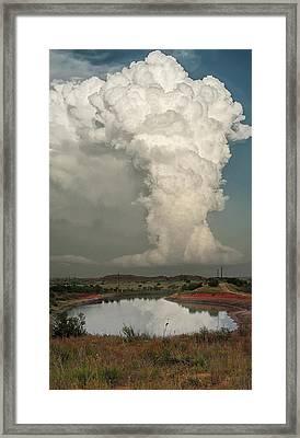 Greenbelt Storm Framed Print