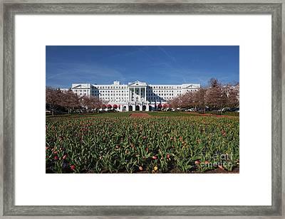 Greenbrier Resort Framed Print