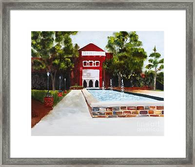 Greene Chapel Framed Print