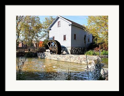 Stoney Creek Framed Prints