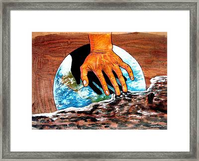 Greenhouse Effect Framed Print by Paulo Zerbato