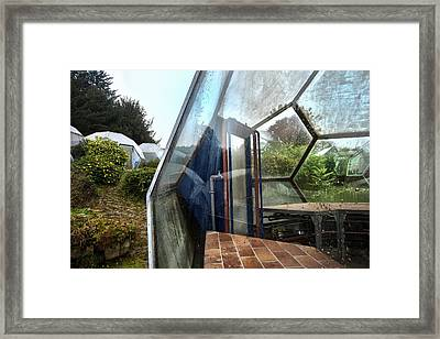 Greenhouse Experiment - Urban Exploration Framed Print