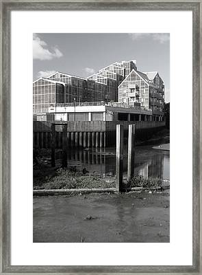 Greenhouse Living Framed Print by Jez C Self