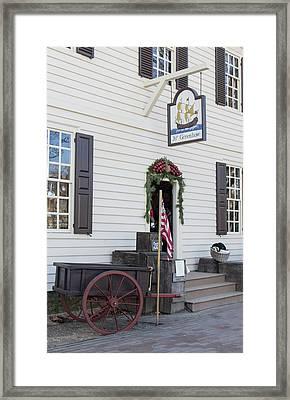 Greenhow Store Williamsburg Framed Print by Teresa Mucha