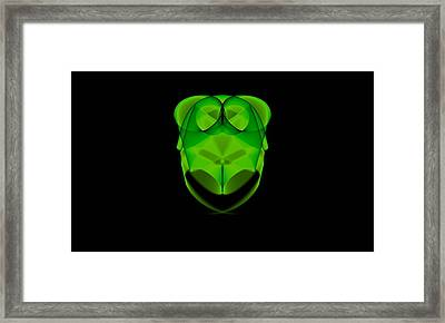 Greenowl - Da Framed Print