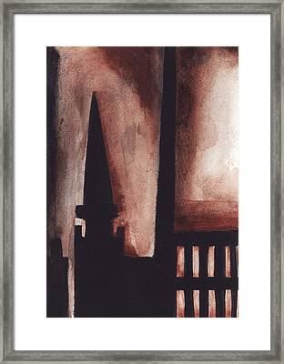 Greenpoint View Framed Print