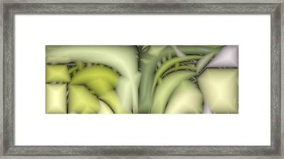Greens Framed Print by Ron Bissett