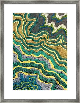 Greenscape C Framed Print by Jason Messinger