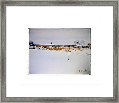 Greenskeeper Framed Print by Robert Boyette