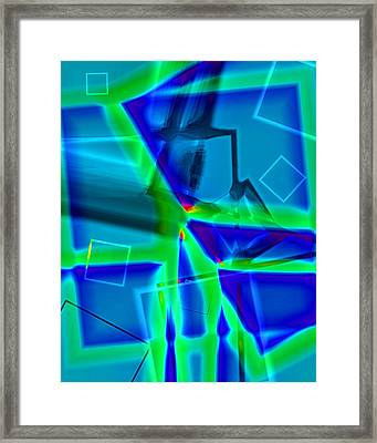 Greenstick Framed Print