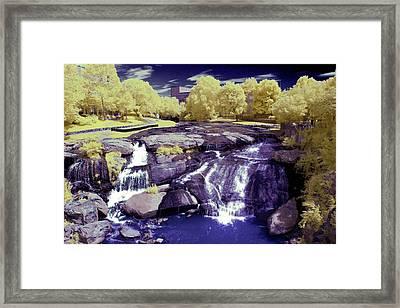 Falls Park Framed Print by Thomas Morris