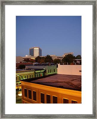 Greenville Framed Print