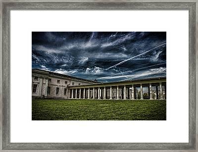 Greenwich Maritime Museum Framed Print by Martin Newman