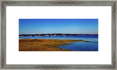 Greenwich Point Connecticut Framed Print by Mountain Dreams