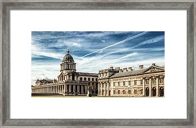 Greenwich University Framed Print