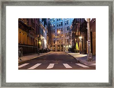 Greenwich Village Framed Print