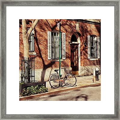 Greenwich Village Framed Print by Benjamin Matthijs