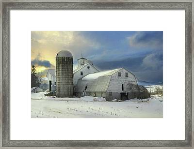 Greenwood Farm Framed Print by Lori Deiter