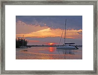 Greet The Day Framed Print