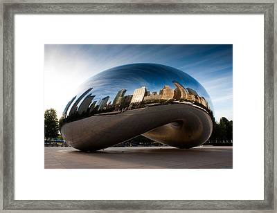 Greeting The Sun Framed Print